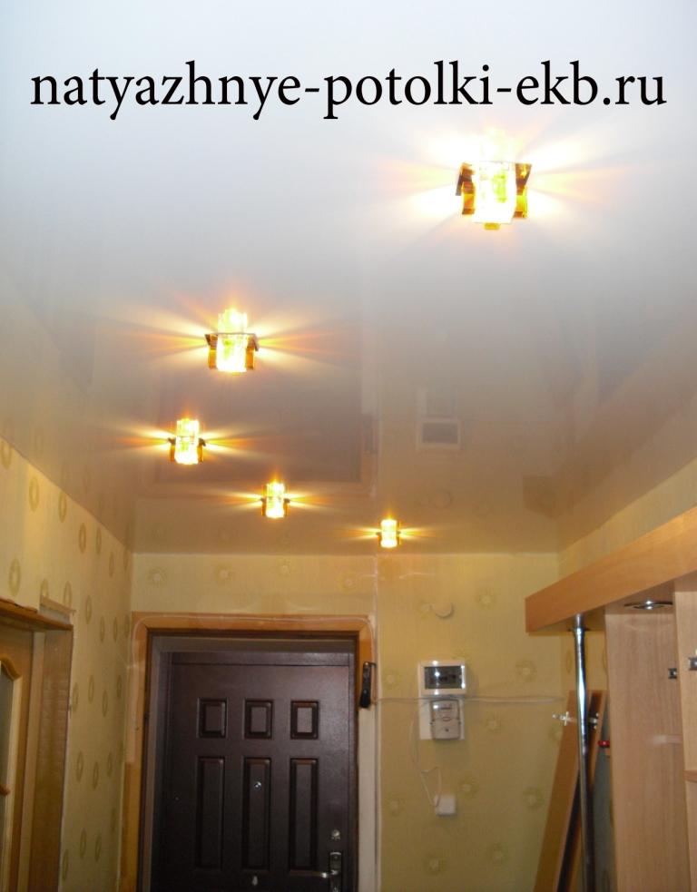дизайн потолков натяжных